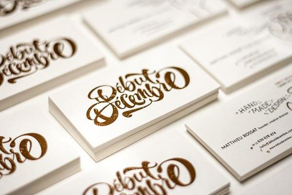 Печать и производство визиток 2