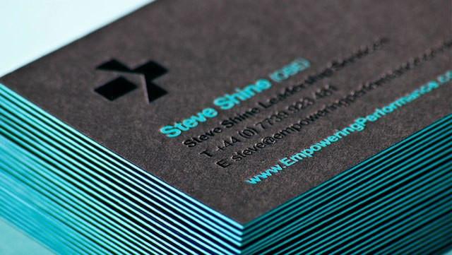 Печать и производство визиток 6