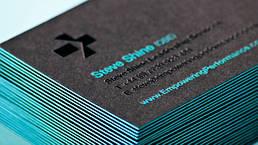 Печать и производство визиток 7