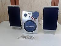 Колонки для ноутбука, ПК, телефона с саббуфером
