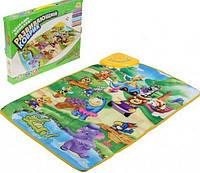 Развивающий музыкальный коврик веселый зоопарк 2969: мелодии, голоса животных