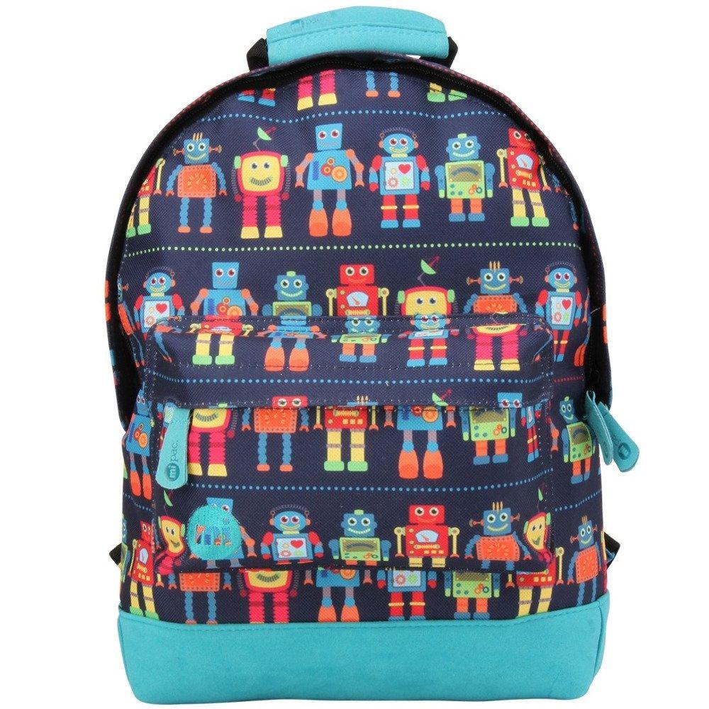 503612520109d Оригинальный рюкзак Mi-Pac Robots Blue Multi   продажа