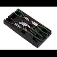 Инструмент HANS. Набор пасатижи, бокорезы, клещи в ложем 4пр. (TT-12)
