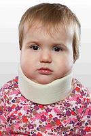 Бандаж для шеи детский, мягкий шина Шанца ОРТЕЗ-2Н