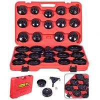 Комплект чашек для съёма масляных фильтров Alloid, 30 предметов (НС-5026)