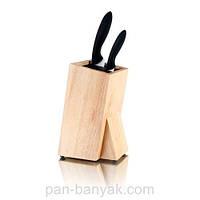 Подставка для ножей универсальная дерево Banquet