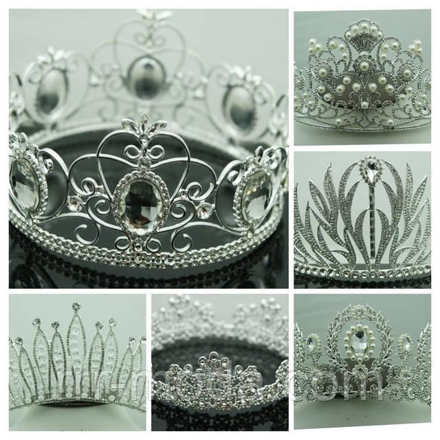 Свадебные головные уборы, короны, диадемы, тиары.