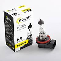 Галогеновая лампа Solar H8 +30% 12v/35w