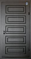Двери входные металл/МДФ Метр Дор Регион MD 024, 960*2050, R, (венге) 1замок