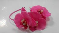 Обруч Орхидеи Малиновый