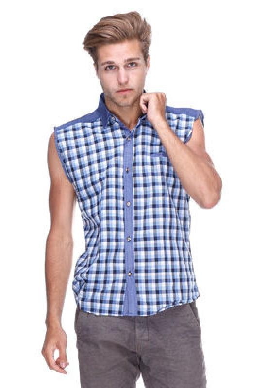 279a31ceac5 Мужская рубашка без рукавов (безрукавка) Arma - Свитерок Рубашкин в Киеве