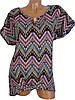 Легкая блуза-туника с узором (в расцветках 46-50), фото 5