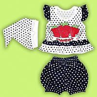 Комплект для Малышек. Ясельный летний комплект для девочки. Летний комплект для девочки.
