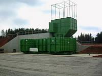 Мусороперегрузочный комплекс для отходов ТБО и мокрого мусора на основе Пресса Компактора