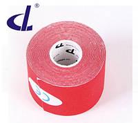Кинезио тейп Kinesio tape DL 5 см х 5 м красный