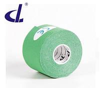 Кинезио тейп Kinesio tape DL 5 см х 5 м зеленый