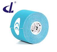 Кинезио тейп Kinesio tape DL 5 см х 5 м голубой