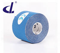 Кинезио тейп Kinesio tape DL 5 см х 5 м синий