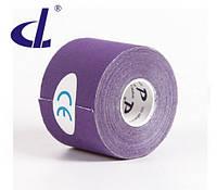 Кинезио тейп Kinesio tape DL 5 см х 5 м фиолетовый