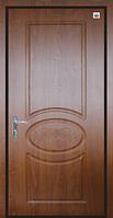 Двери входные металл/МДФ Метр Дор Регион MD 027, 860*2050, L, (золотой дуб) 1 замок