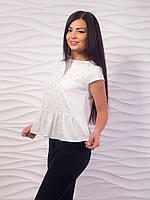 Блуза женская с воланом по низу p.42-48 VM1982-6
