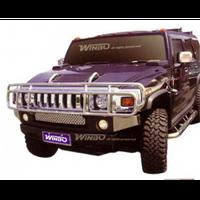 Hummer H2 2003-2005 защита переднего бампера металл.