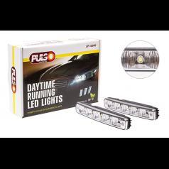Фары дополнительные дневного света PULSO LP-10360 DRL 5LED-HP, 5W, 12V, пластик, 190х30мм