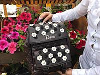 Рюкзак Dior с цветами 0377