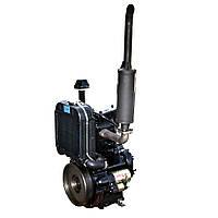 Дизельный двигатель для минитрактора DL190-12 (12,0 л.с.,, электростартер)