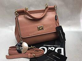 Кожаная женская сумочка Dolce&Gabbana 1282