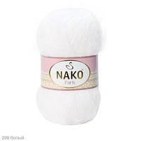 Пряжа Nako Paris Белый