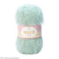 Пряжа Nako Paris Зеленый миндаль