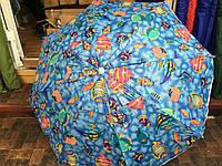 Пляжный зонт 2м. с серебряным напылением
