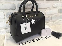 Кожаная стильная сумочка Givenchy star 1309