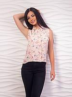 Асимметричная женская блуза p.42-48 VM1964-2