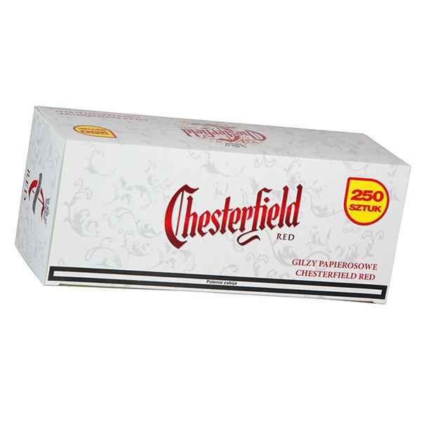 Гильзы для набивки сигарет Chesterfield Red 250 шт.