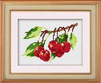 """Набор для рисования камнями (холст) """"Вкусная ягода"""" LasKo TK043"""