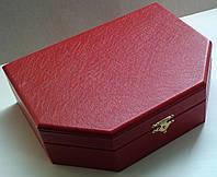 Шкатулка VIP для украшений красная и золото
