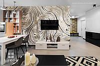 3Д фотообои на стену Текстура дерева