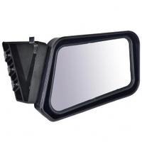 Зеркало боковое на ВАЗ 2101-2107 черное на болтах, в комплекте 2 шт.