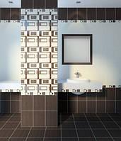 25х33 Керамическая плитка Вельвет бежевый ванная кухня