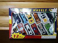 Машинки motor wheels 12pcs.