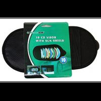 Органайзер для CD-дисков/10шт. А15-1547 с козырьком