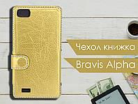 Чехол книжка для Bravis Alpha, фото 1