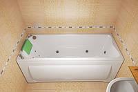 Ванна акриловая Тритон Чарли 1500х700х680