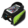Велосипедная двухсторонняя сумка на раму для смартфона BaseCamp BC-301