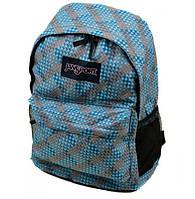 Городской рюкзак нейлоновый голубой