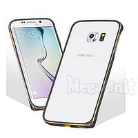 Алюминиевый чехол-бампер Fashion Case для Samsung Galaxy S6 Edge (G925)