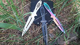 Ножи метательные 3 в 1 Хамелеоны