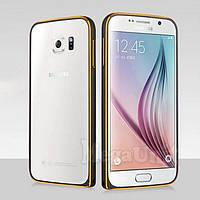 Алюминиевый чехол-бампер Fashion Case для Samsung Galaxy S6 (G920)